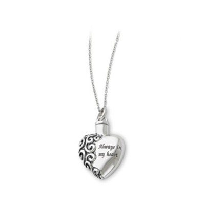 always in my heart necklace for orlando cremation ashes