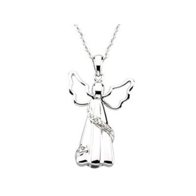 angel charm necklace for orlando cremation ashes