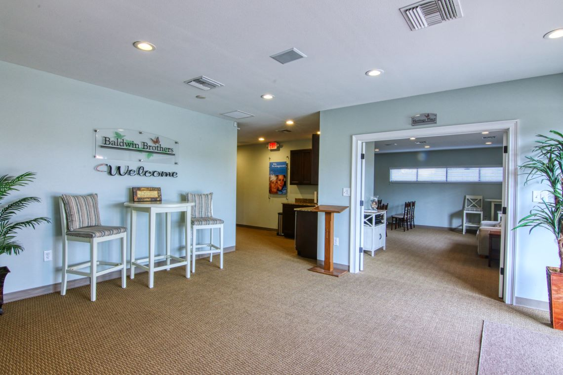 apopka funeral home lobby area