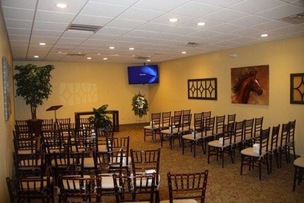 Ocala funeral home chapel front