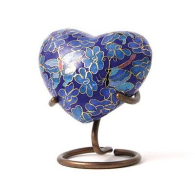 butterfly keepsake heart for orlando cremation ashes