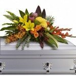extra large floral arrangement for central florida funerals