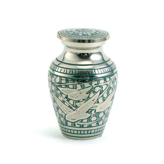 going home keepsake urn to hold ashes
