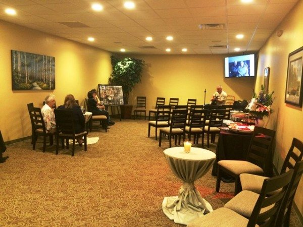 funeral home Ocala chapel with alternate seating