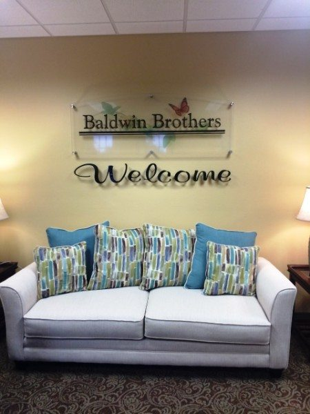 Ocala funeral home welcome area