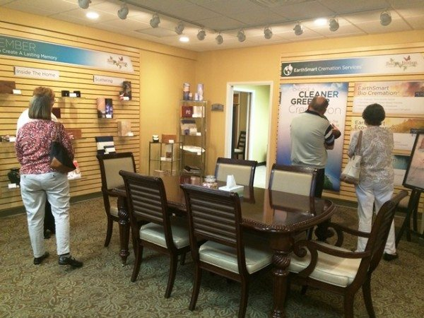 Ocala funeral home planning center with people present
