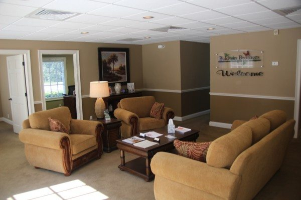port orange funeral home welcome area