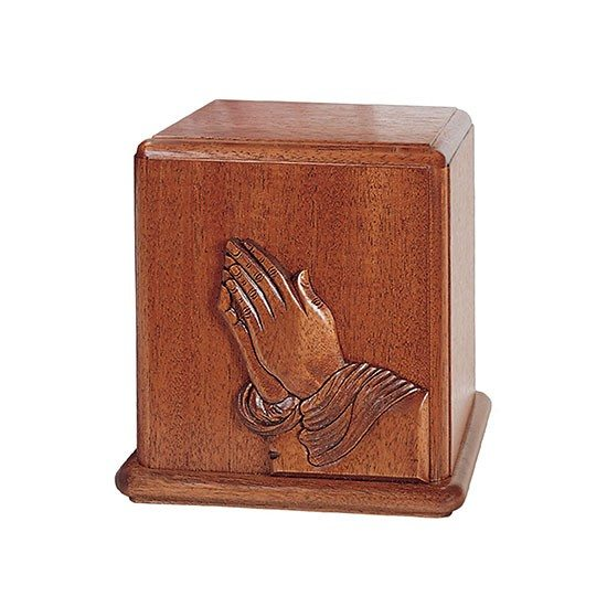mahogany prayer urn for orlando cremation ashes