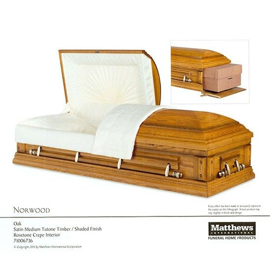 norwood rental casket for orlando funerals