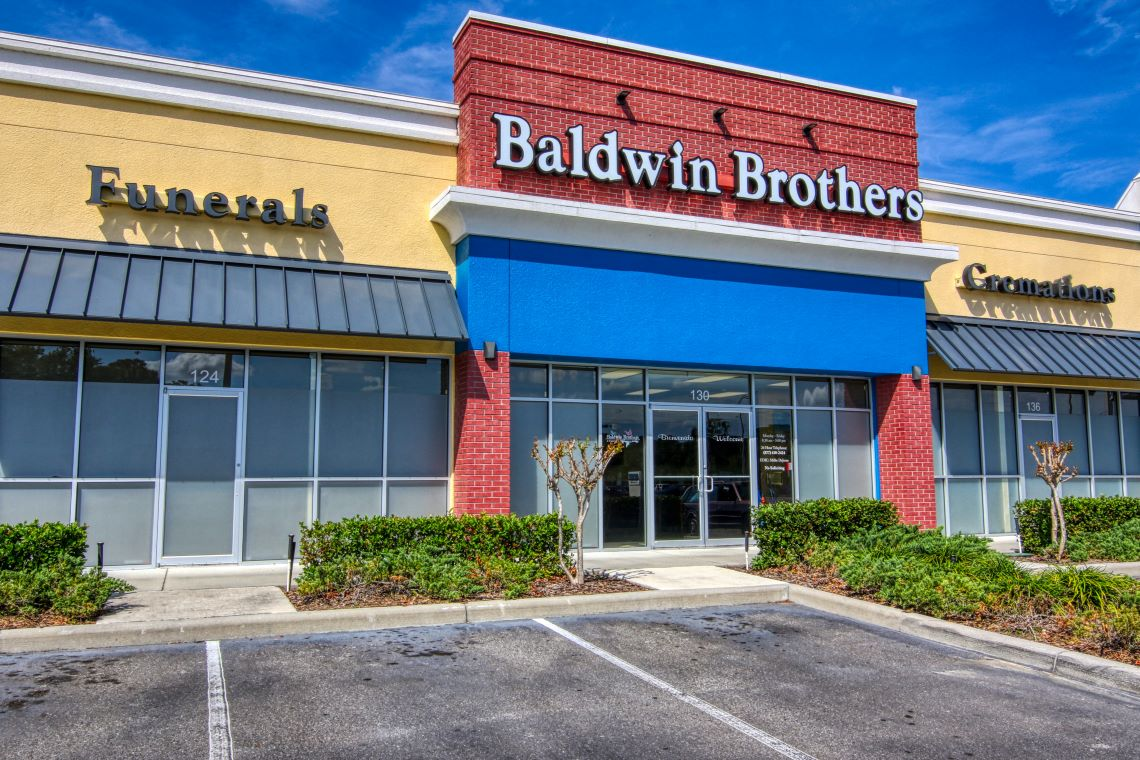 Storefront at Baldwin Brothers Orlando