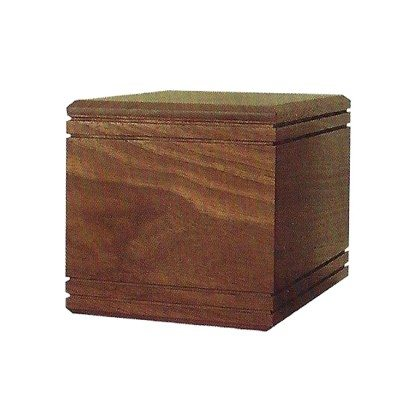 walnut urn for orlando cremation ashes