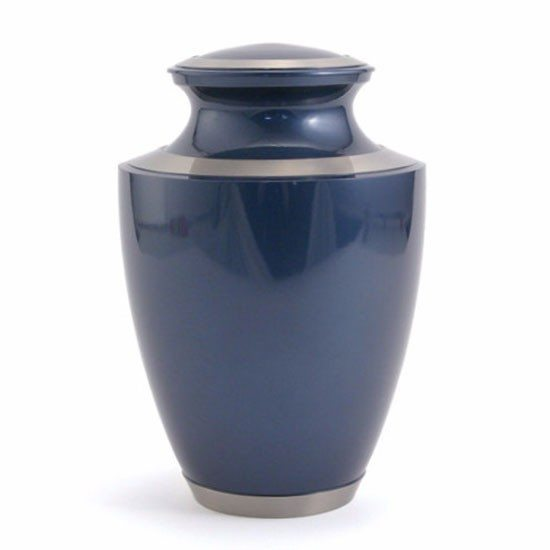 moonlight blue urn for orlando cremation ashes