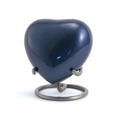 trinity blue keepsake heart for orlando cremation ashes