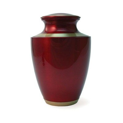 trinity crimson urn for orlando cremation ashes