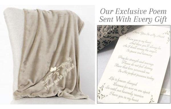 blanket sympathy gift idea