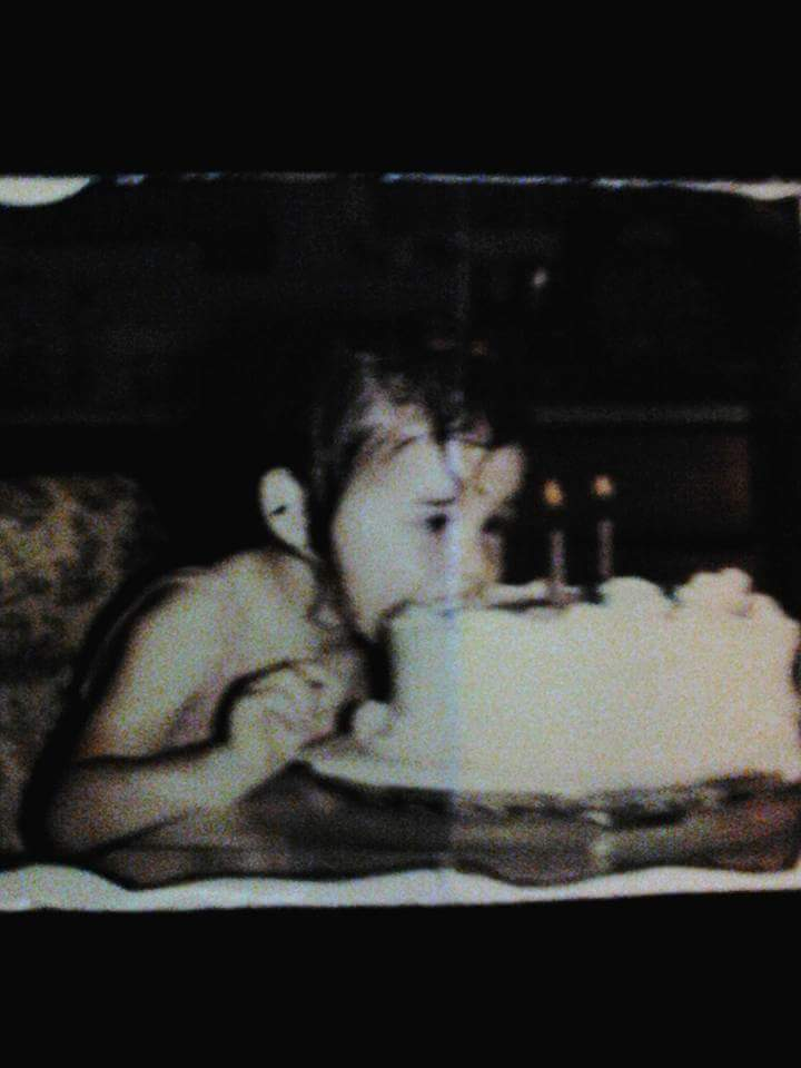 When you were two years old give into me body you in 1986 photograph taken on your birthday July 24 1972