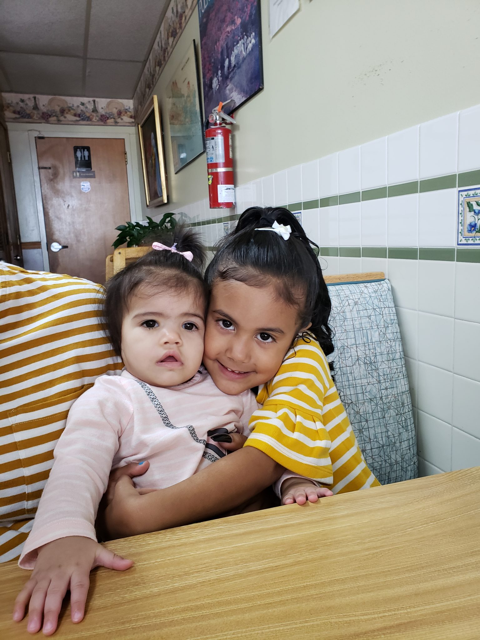 Great granddaughters Amaya and Camila ❣❣