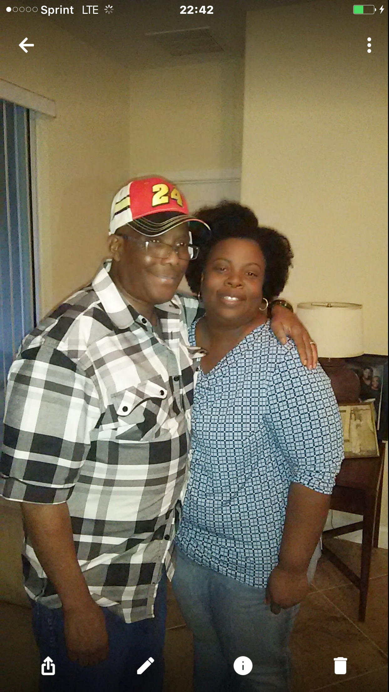 Mr. and Mrs David Plummer at his birthday party!!!<br /></noscript><img class=
