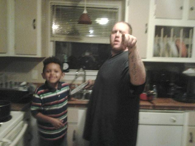 Mychal and his nephew Adrian my son he was everything to him I love ❤ you and miss you  so much bro. Always in our hearts ♥