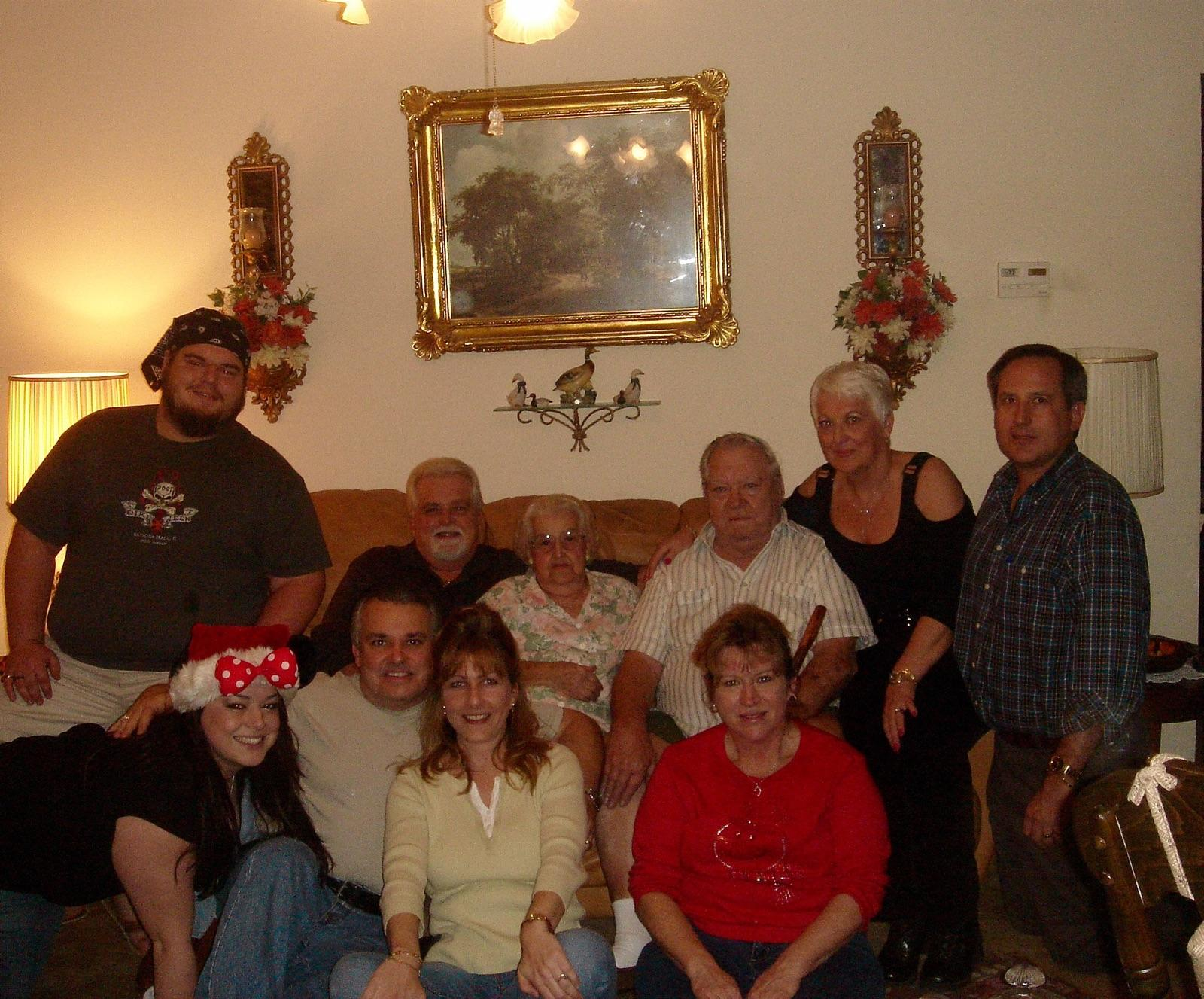 One of the only full family pics I have. Grandma will be missed forever. We will always remember her love and kindness.