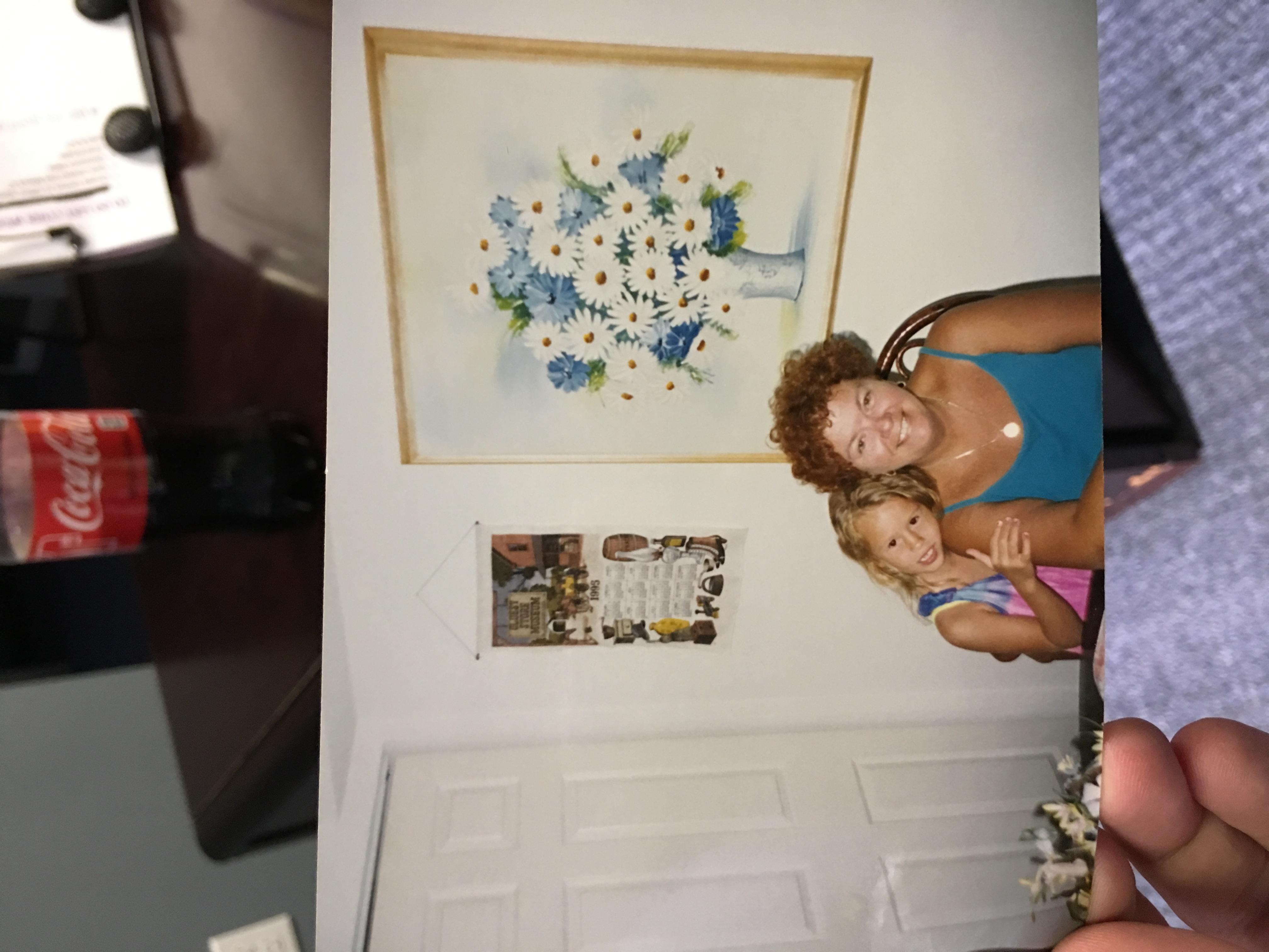 Me and my grandma. RIP Pants. Love you always.