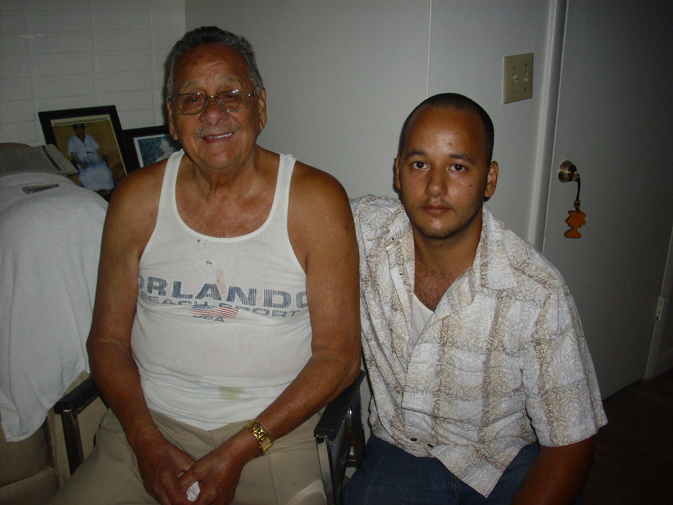 Me & My Grandpa.