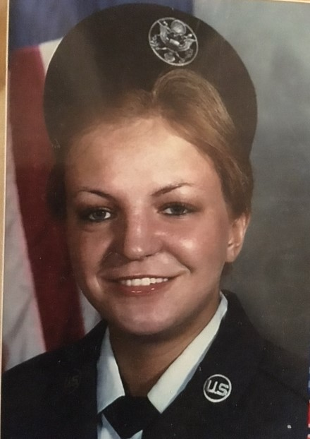 Sheila's Graduation picture from Basic Training March 6, 1980<br /> The United States Air Force.