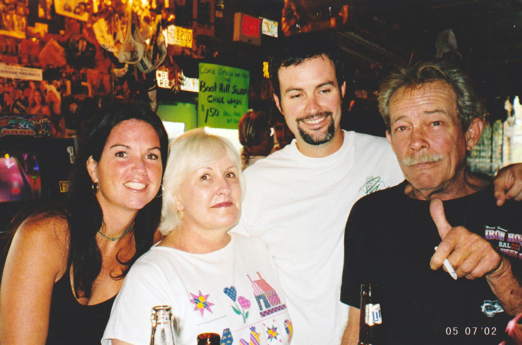 Amy, Mom, Chris and Dad