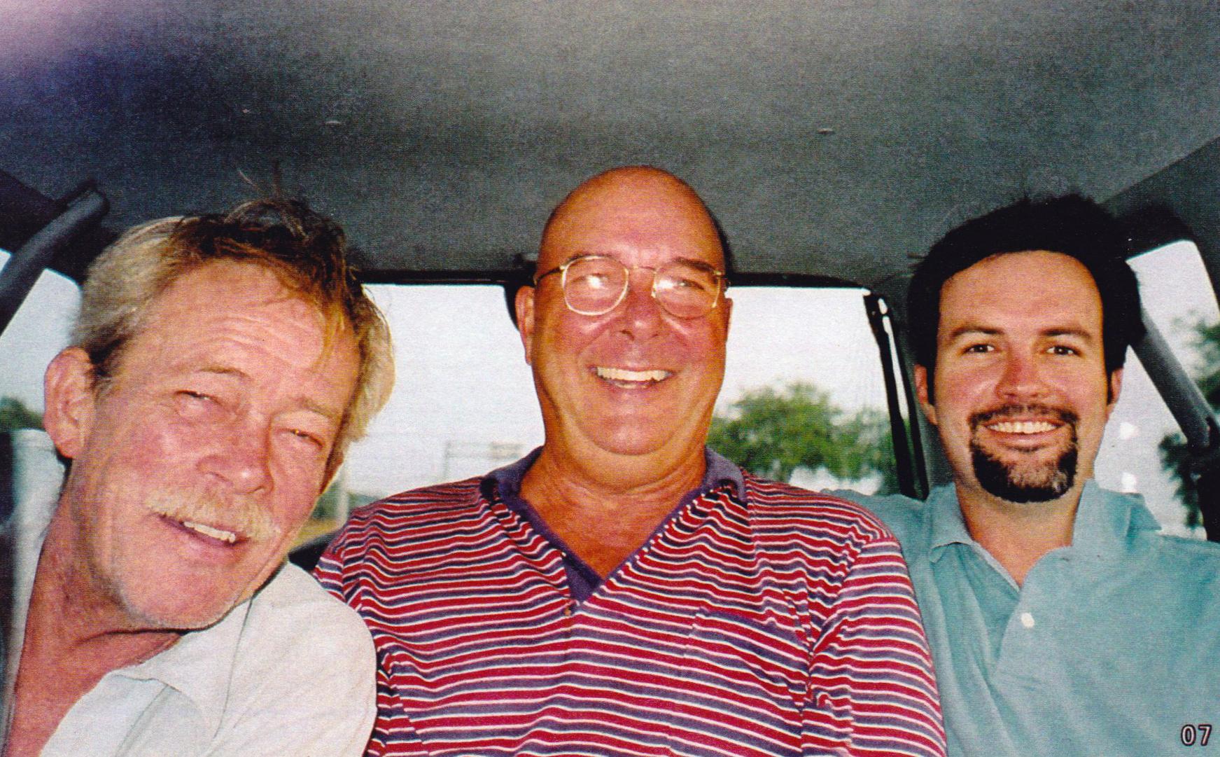 Dad, Bernie, and Chris