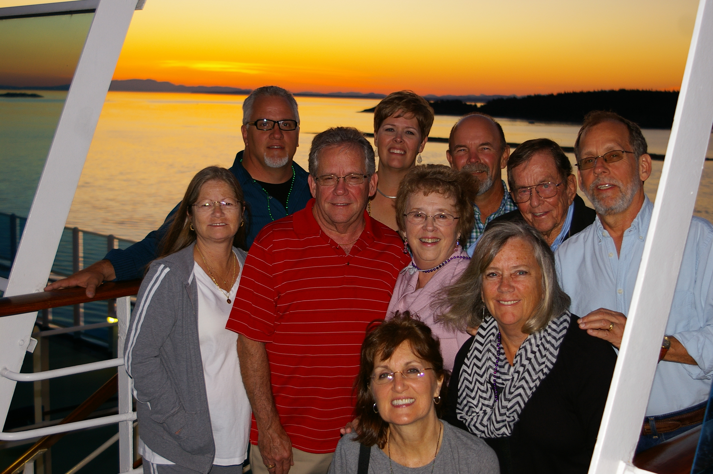 Alaska cruise with family, July 2014.