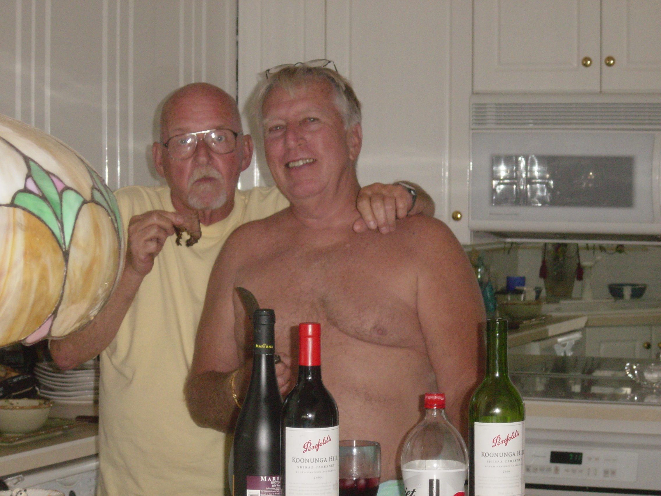 RIP dick, remembering this at christmas 2007 with bill. You were a dear friend to all. my heart and condolences goes out to you chuck. Loss is never easy, you are in my thoughts. I am one of the privilaged to have known Dick and enjoy his company. respectfully Pery-Nicholas