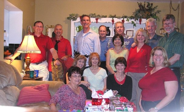 With Home Group 15  years; many members of Northland, A Church Distributed.