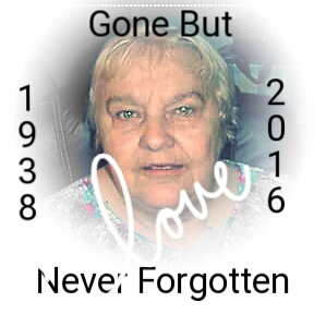 In Memory of an amazing mother, grandmother, sister, aunt, great grandmother