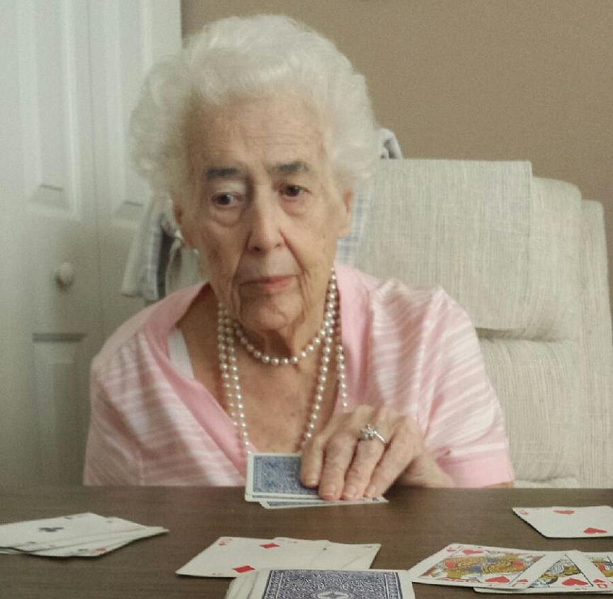 I had good evenings playing Idiots Delight, Tricks, International Rummy and Farkle (dice game) with Lois. She was a sharp player. I will miss her.