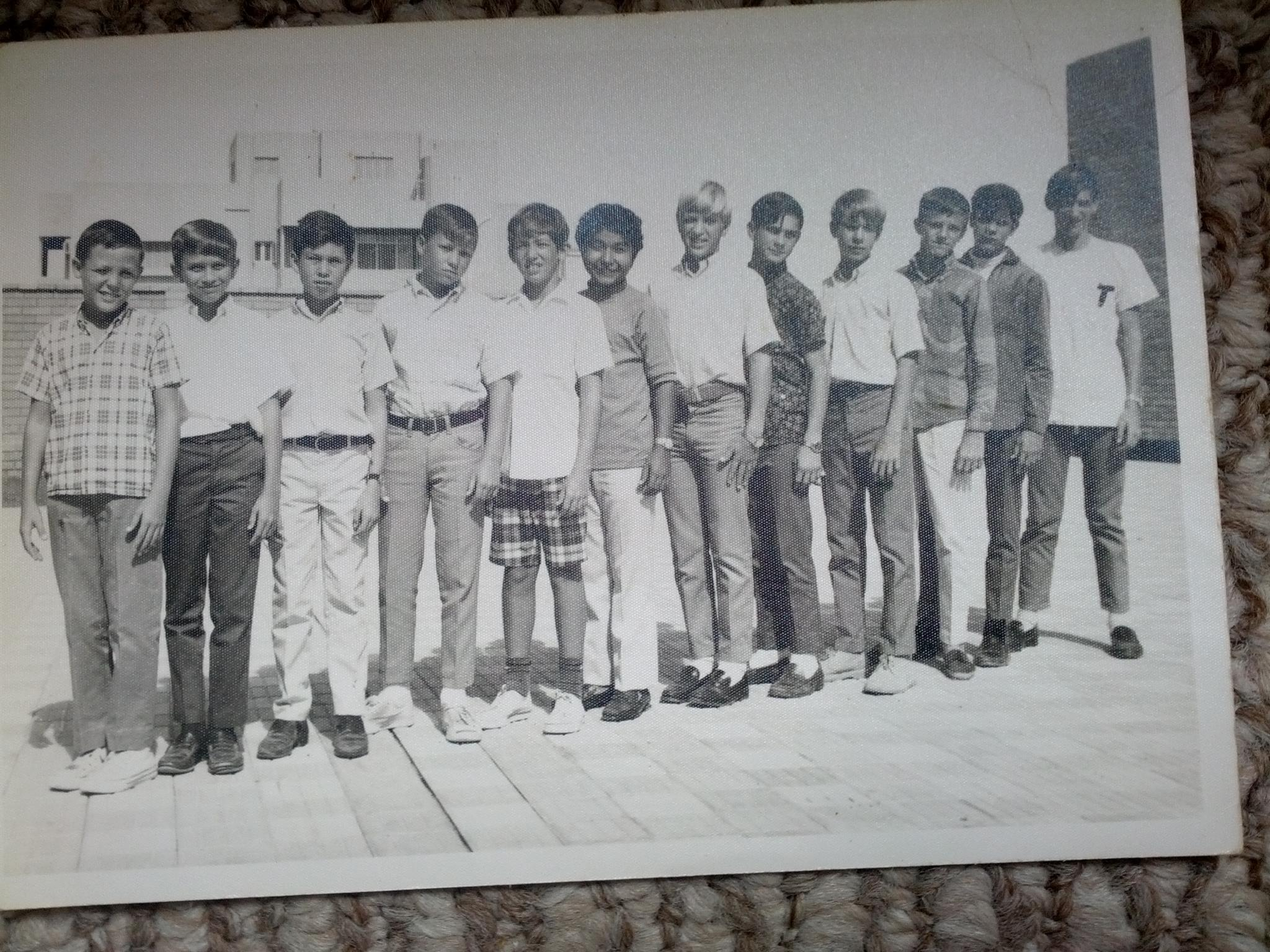 8th grade softball team with Greg in Jeddah Saudi Arabia, was a great teammate.