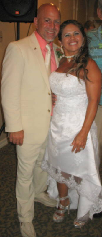 Joe & Lulu's Wedding<br /> <br /> Such a wonderful couple together -- such love.