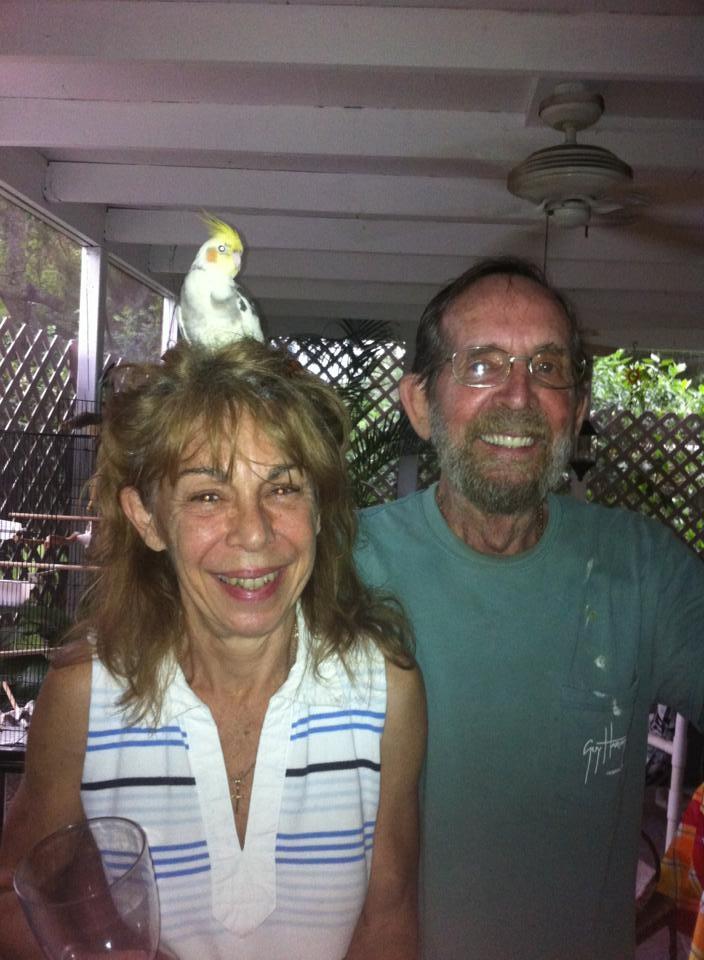 Dad, Sue and Charlie Bird