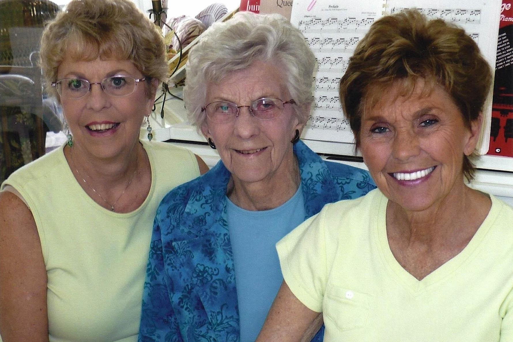 Sue, Veron, Joyce - May 2014