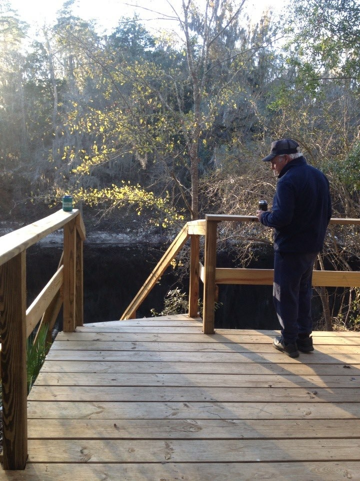 Robert down by the Suwannee river