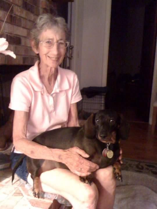 Doris and her beloved companion Annie