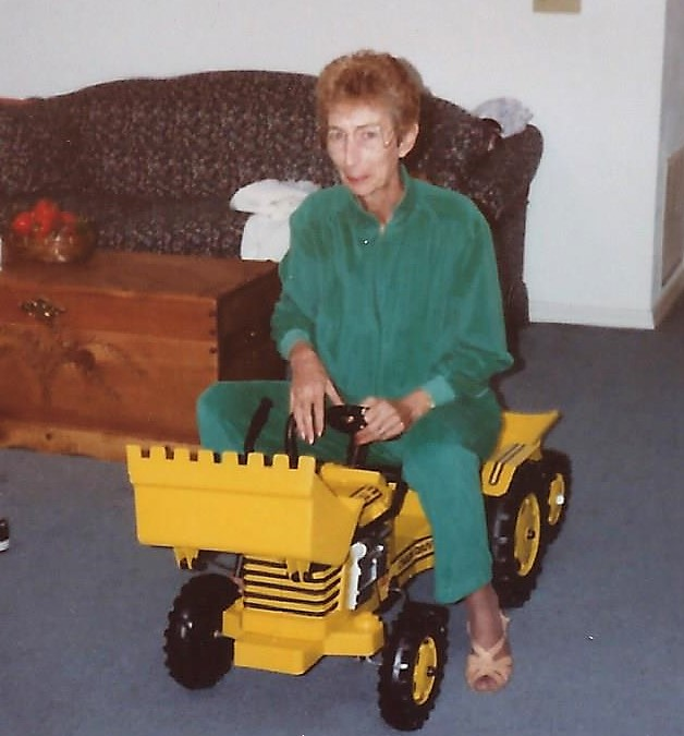 """Doris and her """"new ride"""""""