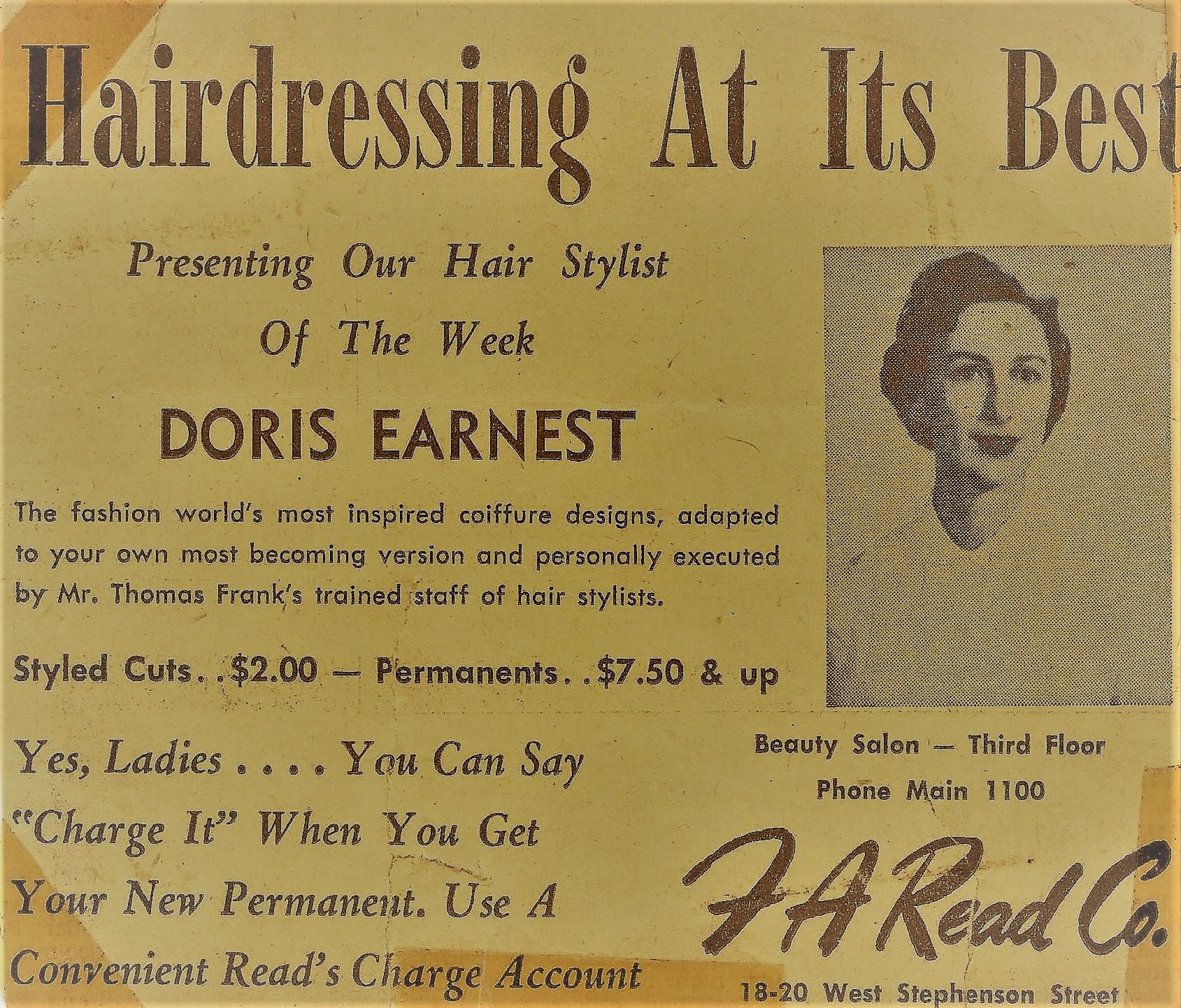 Hair stylist of the week