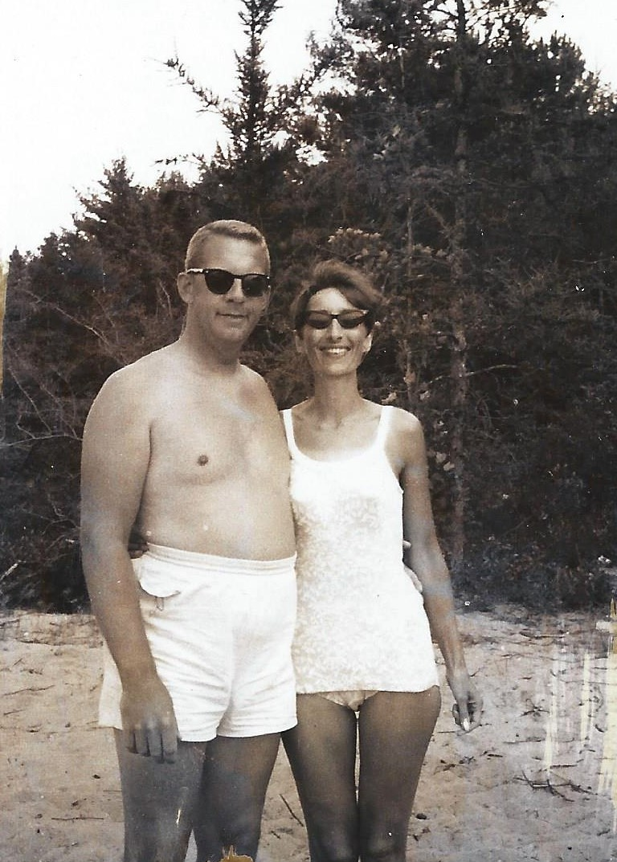 Harold & Doris at Squash Lake, WI