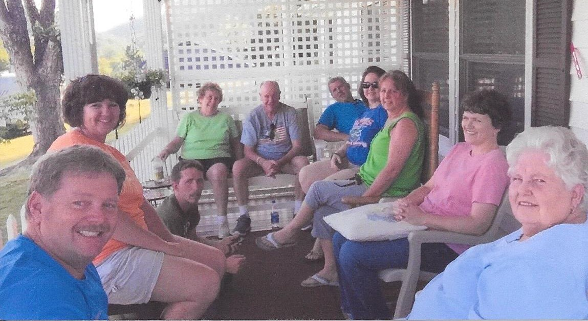 We will always have the memories of that 'porch' time, a place Chris dearly loved.<br /> The Pennington Gap family will truly miss you!