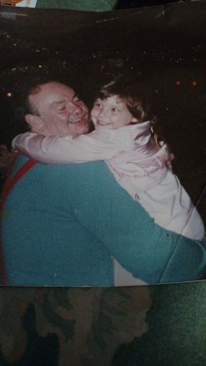Love you Papa I will always remember dancing at campgroud whenever I hear old time of rocking roll xoxo