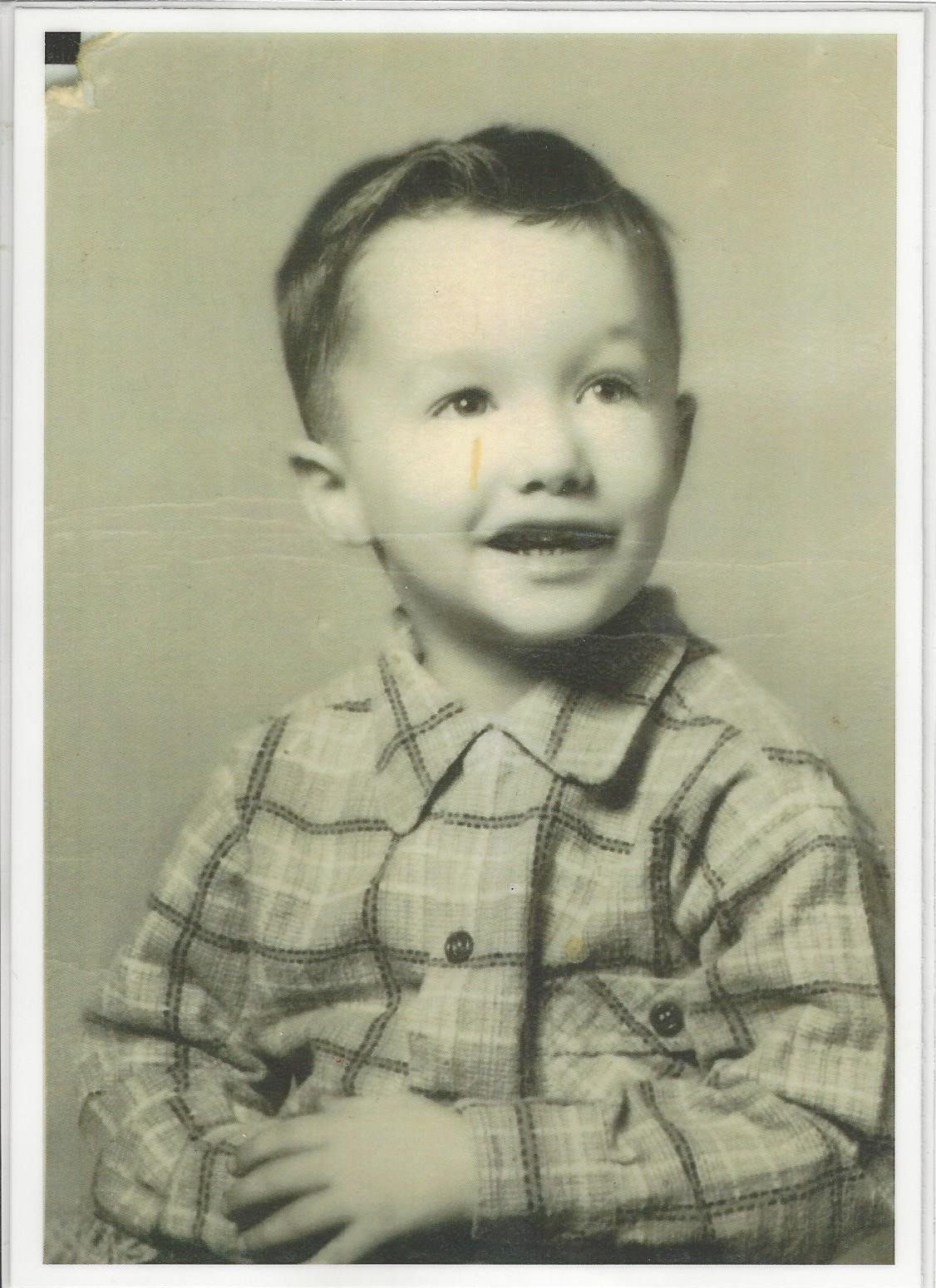 Denis as a child
