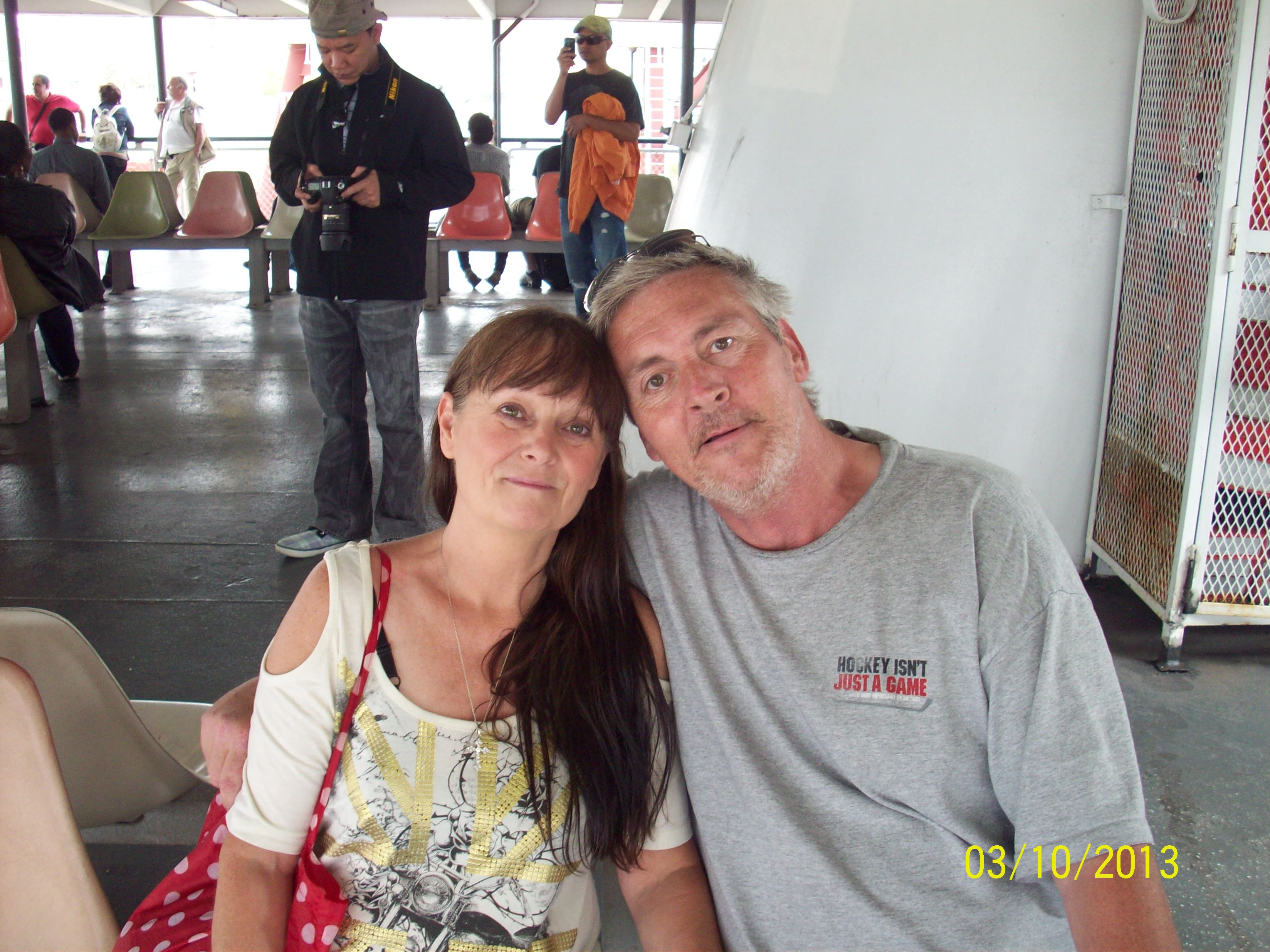 Jeff and I in New Orleans -I just Love this picture of Us. I miss you My Love. You are Forever In My Heart. Always- your loving wife (Donna)