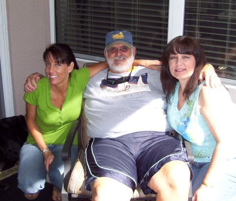 Paula, Dad and me.  Love and miss you Dad.