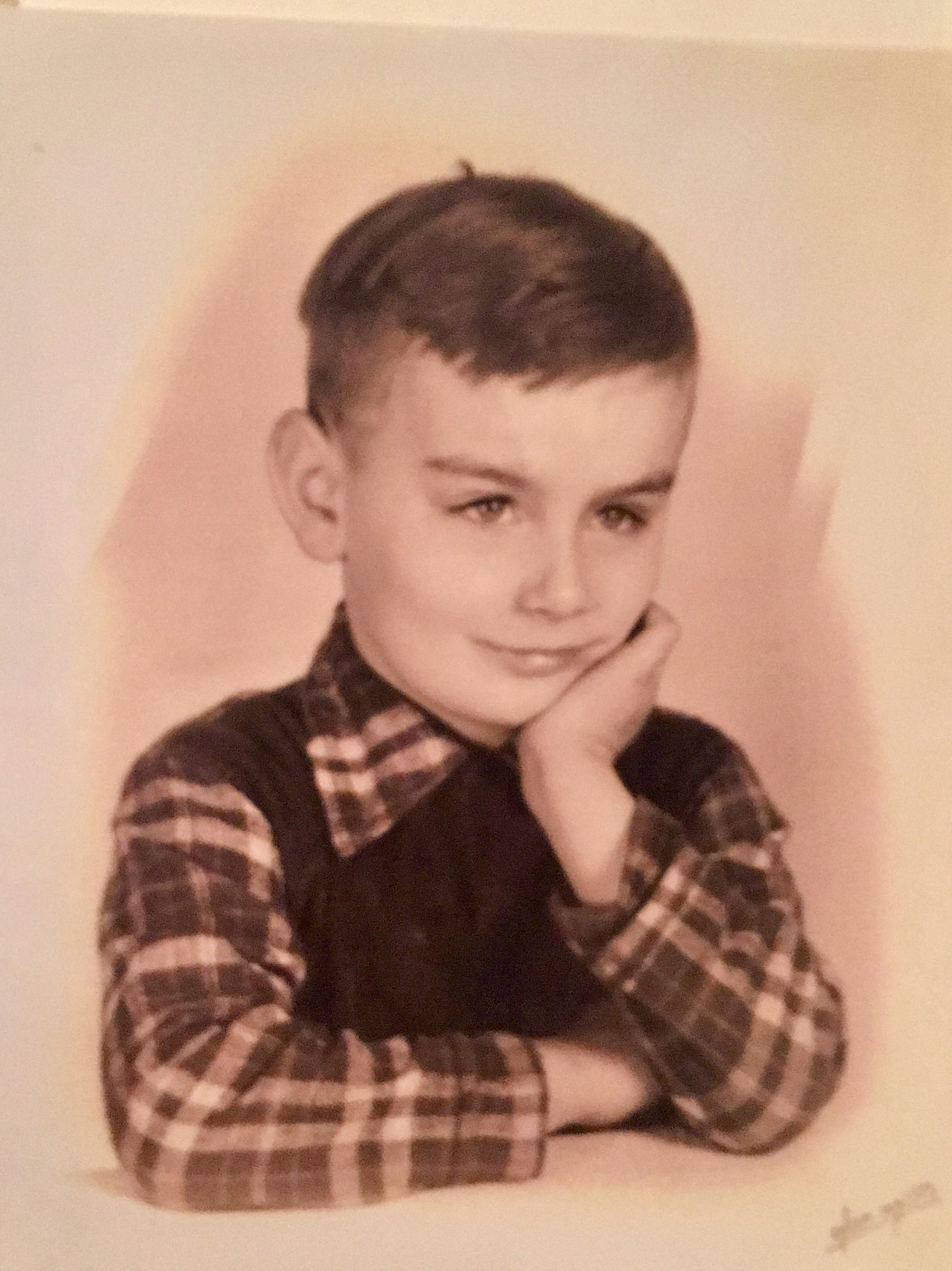 Love this picture of dad as a kid.