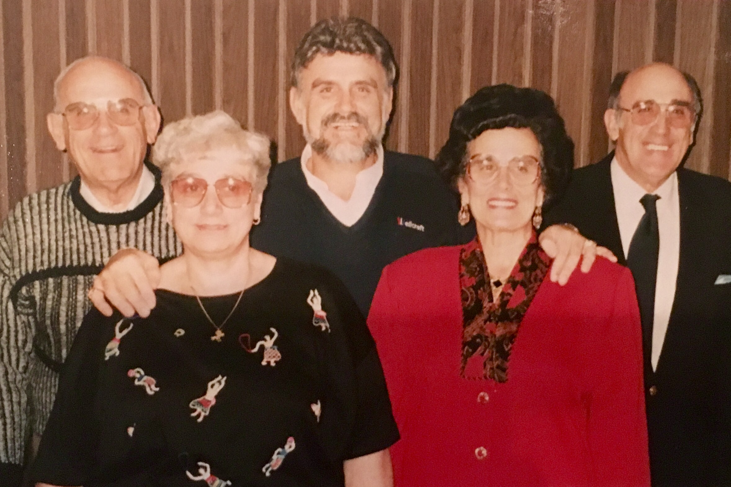 My dad and his siblings. Picture taken in 1991.